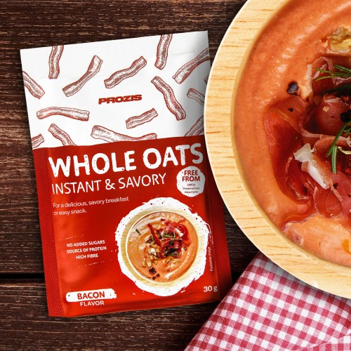 Sachet Savory Instant Whole Oats 30 g