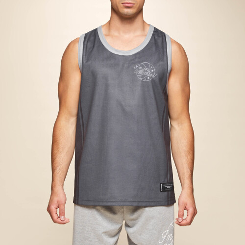 X-College Reversible Tank Top - Davis Grey