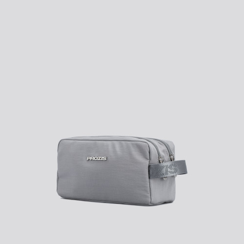 Wash Bag - Split Light Grey
