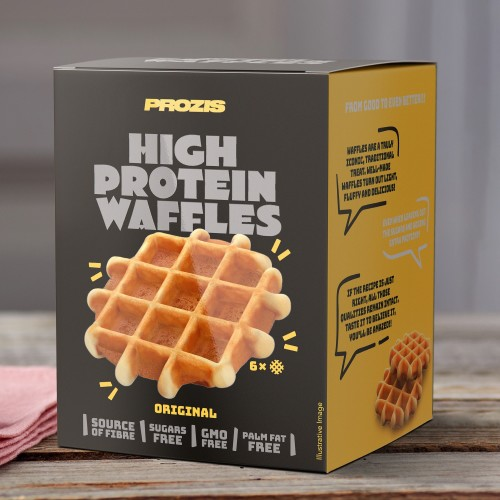6 x High Protein Waffles - Original 25 g