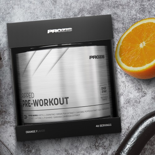 RIPPED Pre-Workout 46 doses