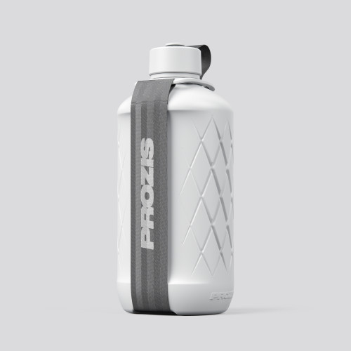Hydra Bottle - 1.8L White/Gray