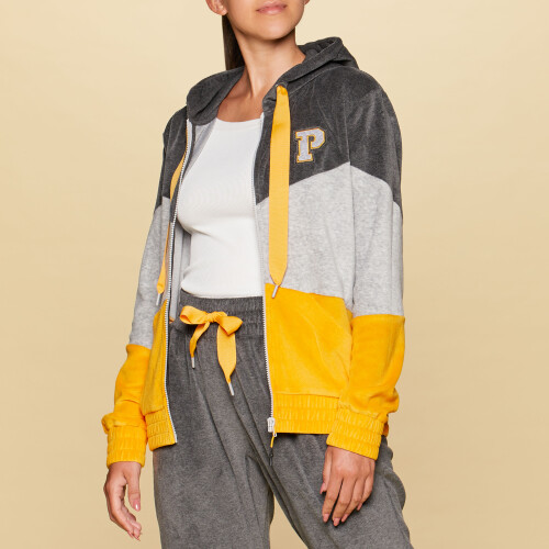 X-College Arvin Zipped Hoodie - Grey