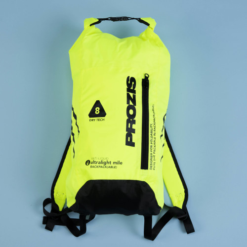 Mochila ultraligera  - Mile Runner Neon Yellow