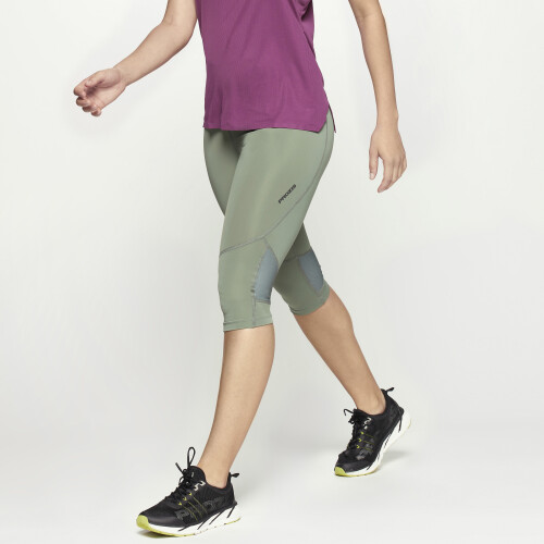 X-Run Boston W Capris - Army