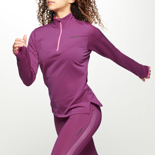 X-Run Boston W Midlayer - Ruby