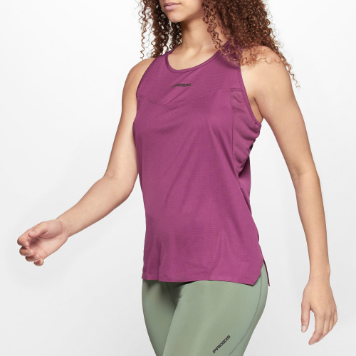 X-Run Boston W Tank Top - Ruby