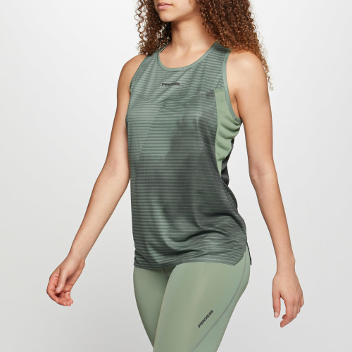 Camisola Sem Mangas X-Run Boston W - Army