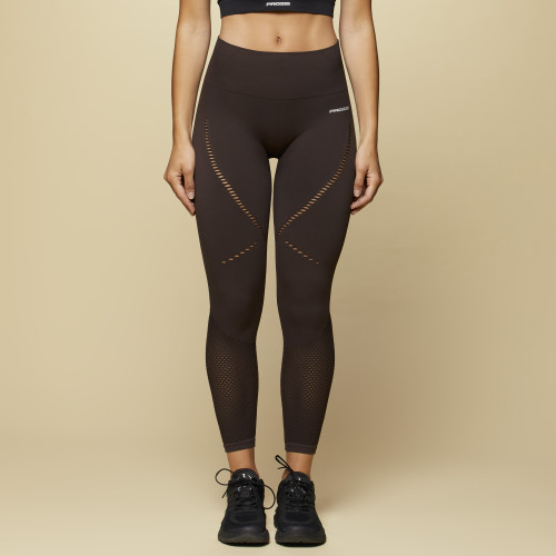 Leggings X-Skin Linden - Chocolate Plum