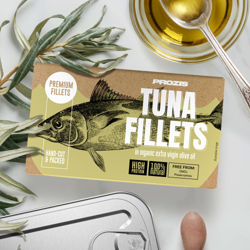 Tuna Fillets - In Organic Extra Virgin Olive Oil 120 g