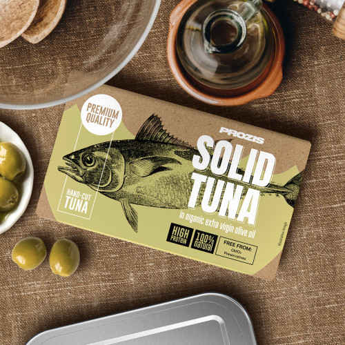 Solid Tuna - In Organic Extra Virgin Olive Oil 120 g