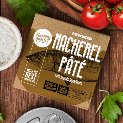Mackerel Pâté - With Organic Ingredients 75 g