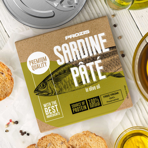 Sardine Pâté - In Olive Oil 75 g