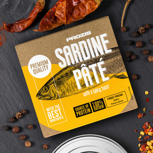 Sardine Pâté - With a Spicy Twist 75 g