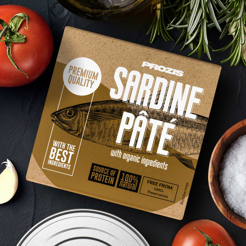 Sardine Pâté - With Organic Ingredients 75 g