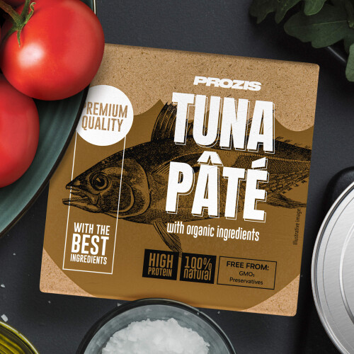 Tuna Pâté - With Organic Ingredients 75 g