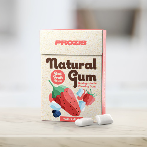 Natural Gum - Red Fruits with Xylitol