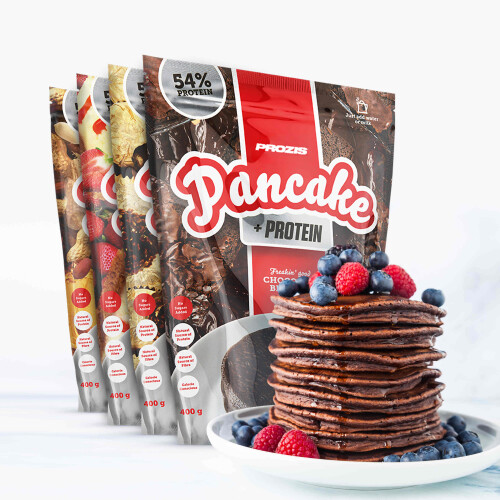 4 x Pancake + Protein – Oat Pancakes with Protein 400 g