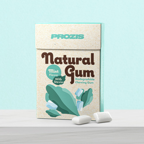 Natural Gum - Mint with Stevia