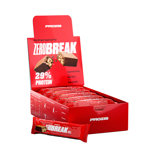 12 x ZeroBreak - Crunchy Protein Chocolate 48 g