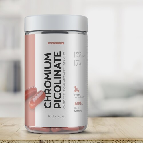 Picolinate de Chrome 600 mcg 120 gélules