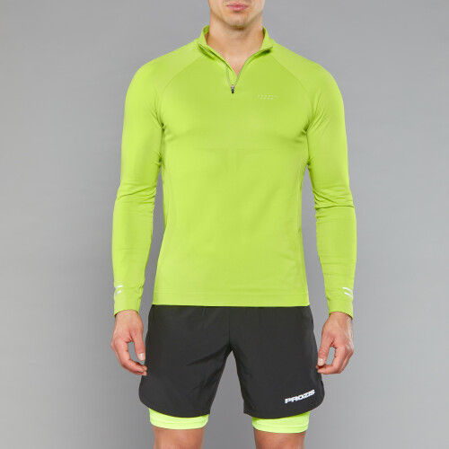 Peak Raiden Langarm Baselayer - Volt