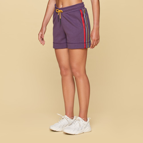 X-College Shorts - Belmont Purple