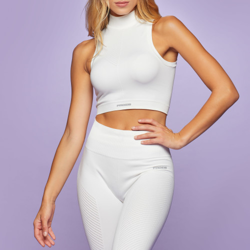 X-Skin Freya Crop Top - Bright White