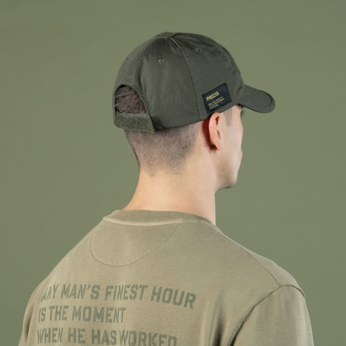 Army Foldable Cap - Combat Issue Camo Olive Green