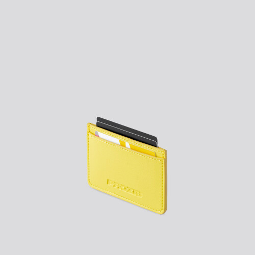 Porta carte  - Yellow