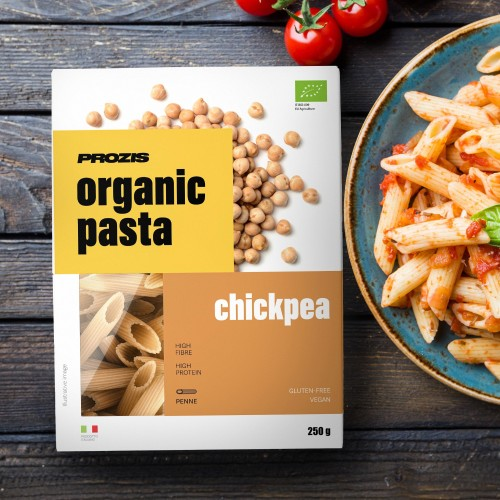 Organic Pasta - Chickpea - Penne 250 g