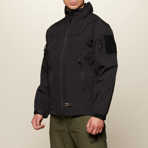 Army Softshell Jacket - Patrol Black
