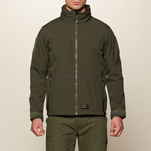 Army Special Ops Softshell Jacket - Olive Green