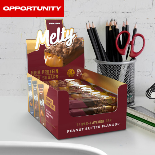 12 x Melty 60 g - Low Sugar Protein Bar Opportunity