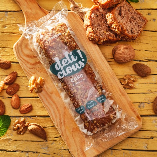 Delicious Cake - Mixed Nuts 250g