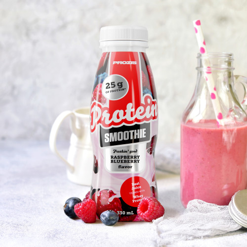 Freakin Good Protein Smoothie - Framboesa e Mirtilo 330 ml