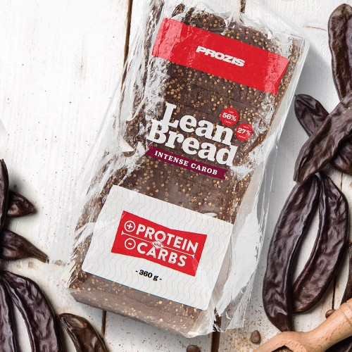 Lean Bread - Pan de Algarroba Intensa 360 g