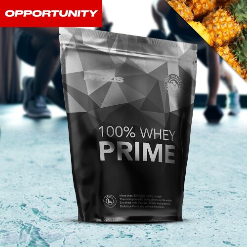 100% Whey Prime 2.0 400 g Opportunity