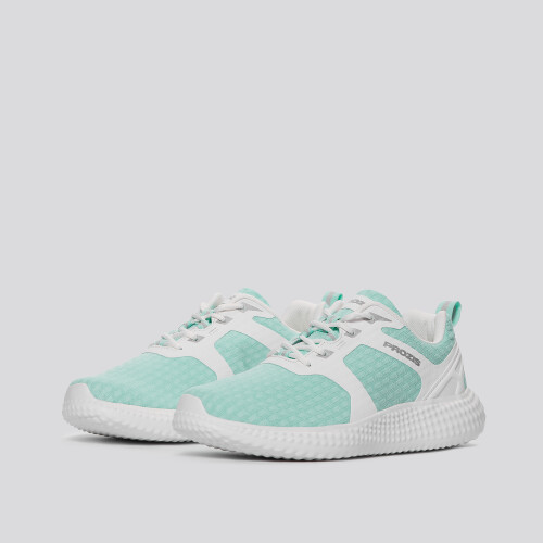 Shredder Sneakers - Mint Green / White