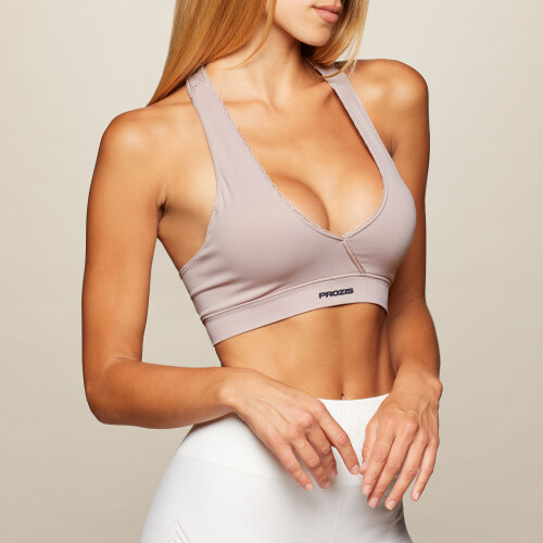 X-Skin Serena Sports Bra - Shadow Gray