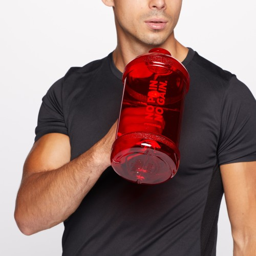 Gym Jug No pain. No Gain. 2L - Red