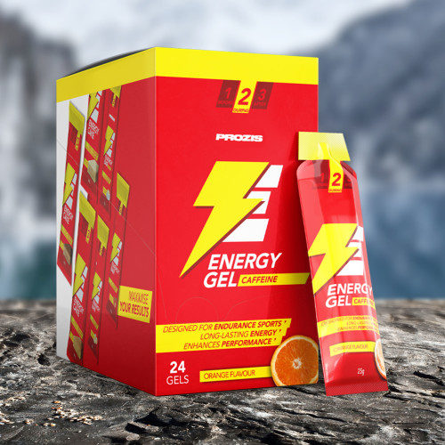 24 x Energy Gel + Caffeine 25 g