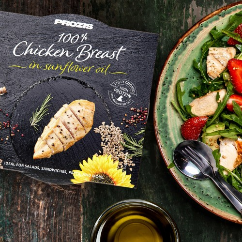 100% Premium Chicken Breast - in sunflower oil 155 g