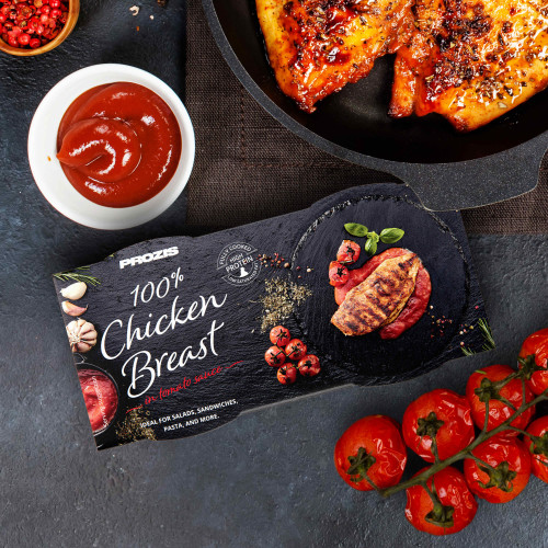 2 x 100% Premium Chicken Breast - in tomato sauce 80 g
