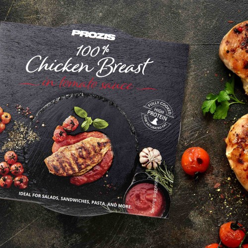100% Premium Chicken Breast - in tomato sauce 155 g