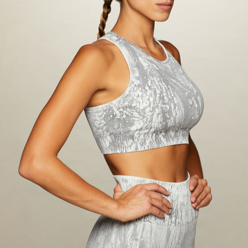Army Boot Camp Sports Bra - Dried Gray