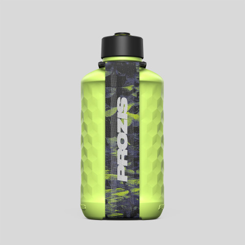 Bouteille Crush Hydra - 1.0L Lime Green/Green