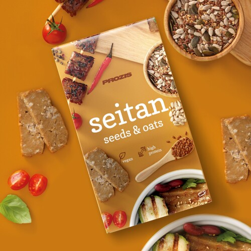 Seitan with Seeds & Oats 200 g