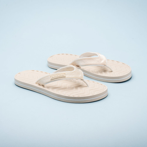 Makai Beach Sandals - Cream
