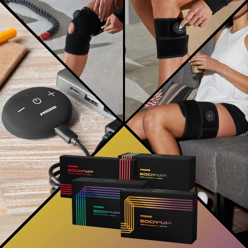 Body'Up - Pack jambes - 1x Body Up + 1x Cuisse + 1x Genou + 1x Mollet